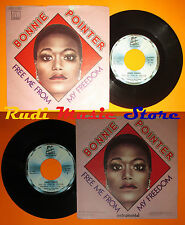 LP 45 7'' BONNIE POINTER Free me from my freedom 1978 italy MOTOWN cd mc dvd