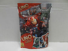 UNO Card Game Marvel Avengers Assemble Mattel #57737 Cardinal Ind. NIB 2013!