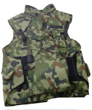 COVER BODY ARMOR POLISH ARMY VEST OLV WOODLAND-ARMED TACTICAL FRAGMENTATION -NEW