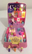 Bluebird Polly Pocket 1994 estrella brillante cena fiesta 100% completa y luces de 💖