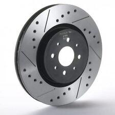 Rear Sport Japan Tarox Brake Discs fit Saab 900 (->93) 2.0 16v 2 85>88