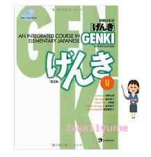 GENKI: An Integrated Course in Elementary Japanese II Second Edition MP3 CD F/S