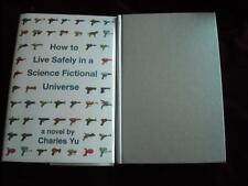 Charles Yu - HOW TO LIVE SAFELY IN A SCIENCE FICTIONAL UNIVERSE - 1st/1st