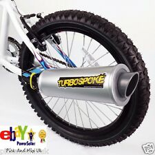 Turbospoke - The Bicycle Exhaust System Turn Your Kids Bike Into A MotorBike