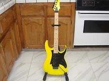 "ibanez rg350m 1/2 step DOWN tune ""flat"""