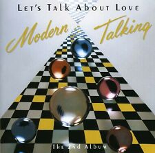 Let's Talk About Love - Modern Talking (1998, CD NEUF)