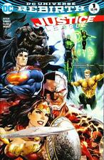 Justice League #1 DF Tyler Kirkman Color Variant with COA DC Rebirth 2016