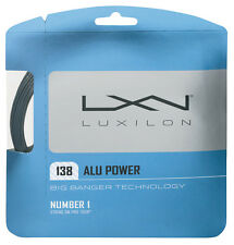 Luxilon BIG BANGER ALLUMINIO POWER 1.38 15 Tennis Stringhe Set
