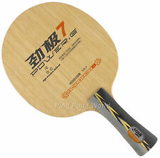 Genuine DHS POWER G7 PG7 Ping Pong Table Tennis blade