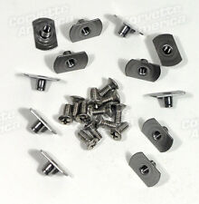 56-62 Corvette NEW Softtop Header Weatherstrip Screw & T-Nut Set K1320