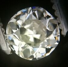 Gia Cert 0.44 Ct antiguos / vintage Redonda Antigua Corte Diamante me Vs2