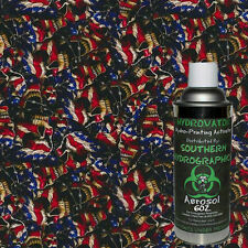 HYDROGRAPHIC FILM WATER TRANSFER HYDRO DIP 6OZ. ACTIVATOR STARS AND STRIPES KIT