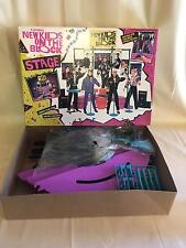 Complete 1990 Hasbro New Kids on the Block Rock Band Stage Set NRFB Doll Playset