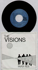"VISIONS ~ PAPER KIDS / THE GHOST~ 1981 DUTCH 7"" SINGLE ~ TOP HOLE TH 012"