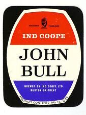 Unused 1950s-60s Ind Coope John Bull 9oz Tavern Trove Burton on Trent England