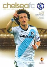 CHELSEA v FC BASEL 2012/13 EUROPA LEAGUE SEMI FINAL MINT PROGRAMME