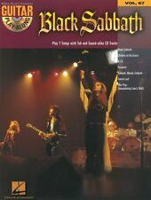 Guitar Play-Along Black Sabbath Learn Play Heavy Metal TAB Music Book & CD