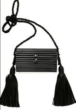 Saint Laurent YSL Opium Tassel Plexiglass Minaudière  **Please Read Discription*