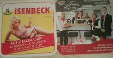 Bierdeckel Isenbeck Tauschbörse 06.05. 2016 Hamm Paderborner Brauerei Warsteiner
