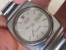 RARE 70'S SS OMEGA SEAMASTER DAY DATE ELECTRONIC F300HZ CHRONOMETER        #6088