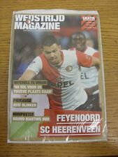 16/03/2014 Feyenoord v Heerenveen  . Any faults with this item have been previou