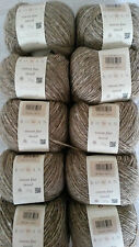 10x25g  ROWAN FINE TWEED Fb. 361 bedale Wolle Tweedgarn Norweger Fair Isle