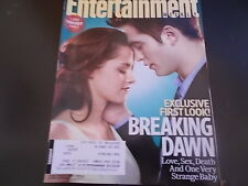 Twilight: Breaking Dawn, Robert Pattinson - Entertainment Weekly Magazine 2011