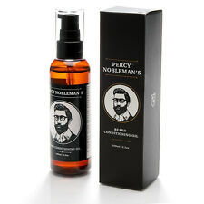 PERCY NOBLEMAN OLIO AMMORBIDENTE DA BARBA TONICO PER CURA BARBA BEARD OIL