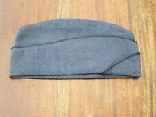 Korean War Era 1951 USAF USA Air Force Blue Wool Pilots Cap - Great Prop