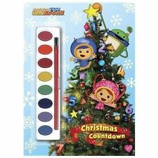 Paint Box Book Ser.: Christmas Countdown (Team Umizoomi) by Golden Books...
