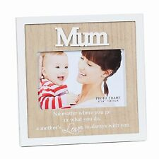Mum Wooden Photo Frame (6x4) - Perfect Mother Day Gift