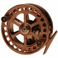IKONIX PRO CENTRE PIN CARP RIVER TROTTING FISHING REEL IN WOOD PRESENTATION BOX