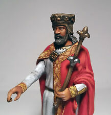 Tin Soldier: Hugh Capet - The Great King of France; 54mm historical miniature