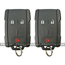 2 New Oem Factory Genuine Remote Key Keyless Fob For Gm Chevy Pickup Truck Suv