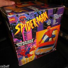 Spider-Man Animated Series Telephone Phone 1994 Marvel Comics in Box never used