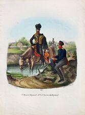 Preußen Husaren-Regiment König Wilhelm I. Uniform Attila Orden Infanterist Säbel