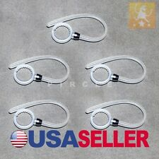 SET 5 WHITE EARHOOK FOR MOTOROLA BOOM BLUETOOTH HEADSET  EAR HOOK Brand New