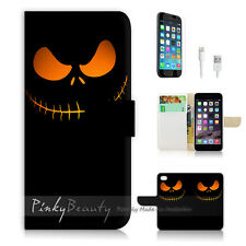"iPhone 6 Plus (5.5"") Print Flip Wallet Case! Nightmare Before Christmas P1368"