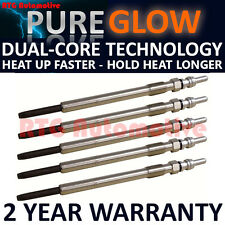 5X FOR VOLVO S60 S80 V70 XC70 XC90 2.4 D5 DIESEL HEATER GLOW PLUGS GP1201