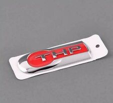 Red THP Emblem Rear Trunk Fender Sticker Logo Badge for Peugeot Citroen