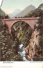 B38097 Saint Sauveur Les Bains Pont Napoleon france
