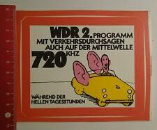 Aufkleber/Sticker: WDR 2 während der hellen Tagesstunden (170816112)