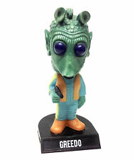 """Funko Toys STAR WARS GREEDO 7"""" bobblehead figure RARE IN THE UK, not boxed"""
