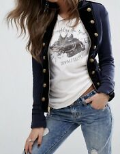 NWT RALPH LAUREN DENIM&SUPPLY WOMENS COTTON MILITARY OFFICERS JACKET, SIZE S