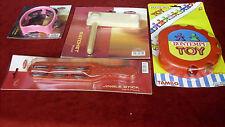 SET RITMICO 4 pezzi (Tamburello,Cembalo,Raganella, Jingle stick)
