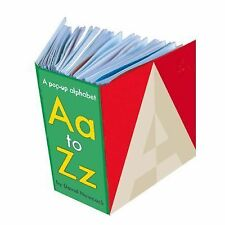 Aa-Zz: A Pop-Up Alphabet, Hawcock, David, New Books