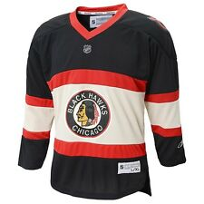 ($70) Chicago Blackhawks THROWBACK nhl Hockey Jersey YOUTH KIDS BOYS (L-LARGE)
