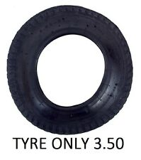 "3.50 - 8 TYRE ONLY Fits a 14"" Wheel Wheelbarrow Garden Innertube Inner tube"