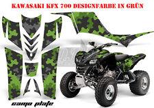 AMR Racing DECORO GRAPHIC KIT ATV KAWASAKI KFX 450 & 700 camoplate B