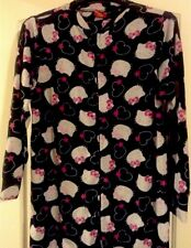 Sanrio I Heart Hello Kitty Footie Footed Pajamas 1 Piece M LAST ONE
